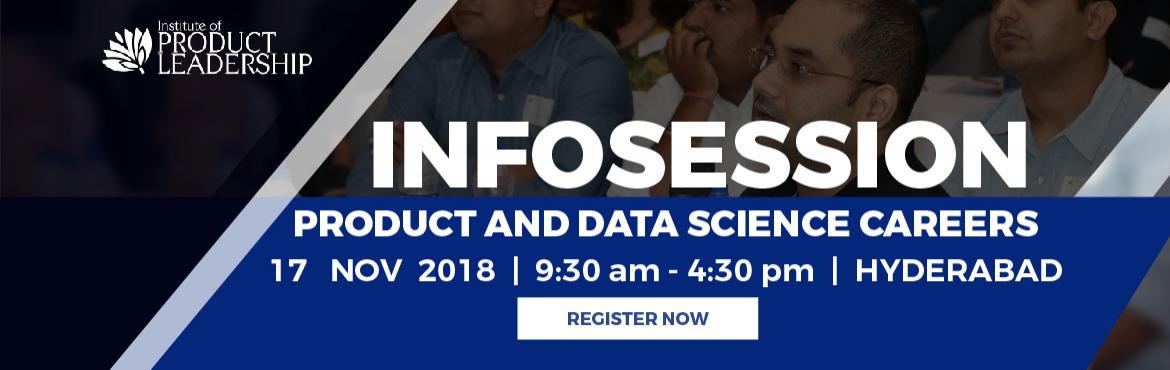 Infosession on Product Leadership and Data Science as a career path.