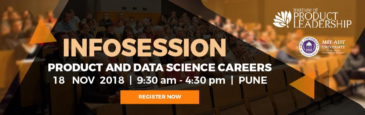 Infosession on Product Leadership and Data Science as a Career Path