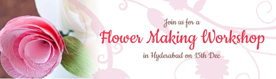Artificial Flower Making Workshop