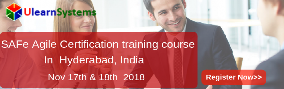 Book Online Tickets for Scaled Agile Framework Certification Tra, Hyderabad. Ulearn System\'s Offer Scaled Agile Framework Certification Training Course Hyderabad, India. The Scaled Agile Framework® (SAFe®) is a complete guide or methodology for large-scale Agile project teams to execute an Agile transformation in bes