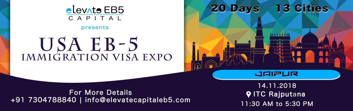 Book Online Tickets for Jaipur: USA EB5 Immigration Visa Expo, Jaipur. The US EB5 Visa Program is a US Investment Immigration Program that enables foreign investors to obtain a US permanent resident (Green Card) status by investing in a business that will benefit the US economy and create jobs. As per the law, the inves