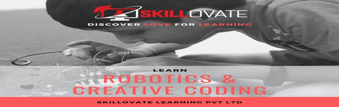 Book Online Tickets for Free Robotics and Creative Coding Demo W, Pune. FREE DEMO ON CREATIVE CODING & ROBOTICS FOR KIDS of AGE 4 TO 14 YEARS at WAKAD Skillovate Learning is an afterschool programme to teach 21st-century skills to kids like Creative Coding & Robotics of age 4 to 14 with an age-appropriate curricu