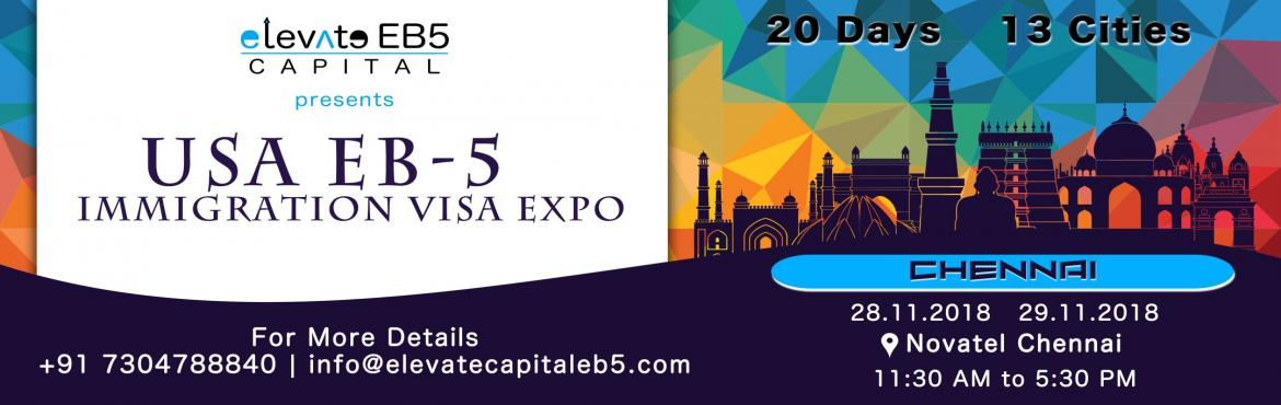 Book Online Tickets for Chennai: USA EB5 Immigration Visa Expo, Chennai. The US EB5 Visa Program is a US Investment Immigration Program that enables foreign investors to obtain a US permanent resident (Green Card) status by investing in a business that will benefit the US economy and create jobs. As per the law, the inves