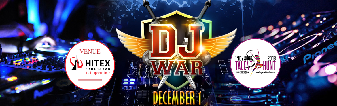 Book Online Tickets for DJ War , Hyderabad. DJ war is a never before seen DJ partybash where 5 Top Rising DJ\'s from all over india, Battle it out for the Title of DJ war King. Dance through the Rhythmzz and Drops of each Genre.
