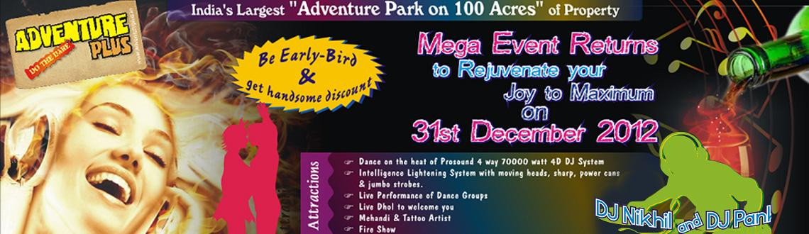 New Year Party @ Adventure Plus