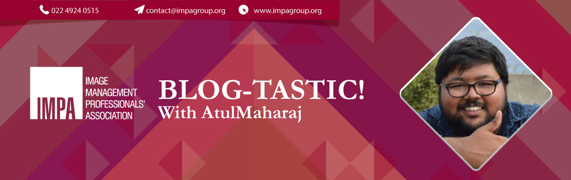 """Book Online Tickets for Blog-tastic with AtulMaharaj, Hyderabad. ABOUT THE EXPERT - Atul Sharma aka AtulMaharaj """"Software Engineer by Profession, Blogger by Passion"""" is how Atul (aka AtulMaharaj) introduces himself. Atul has been blogging on Socialmaharaj.com for the past 5 years. The blog is home to h"""