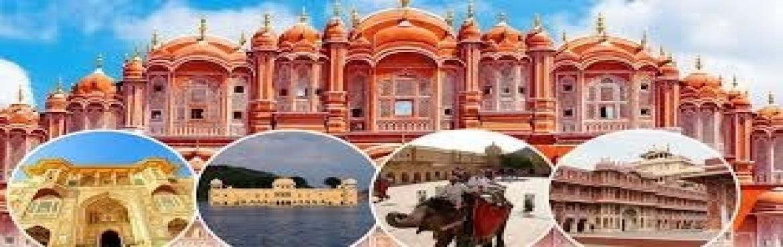 Book Online Tickets for DELHI- JAIPUR- AJMER- PUSHKAR, Delhi.     Jaipur   Hawa Mahal, city palace, Jantar manta, Amber fort, Jaigarh fort, Nahargarh fort, Jalmahal, Albert hall museum, Bapu bazar     Ajmer   Adhai Din ka Jhopara, Ajmer sharif, Ana Sagar lake,Akbar Palace and museum     Pushkar   Bharma temple,
