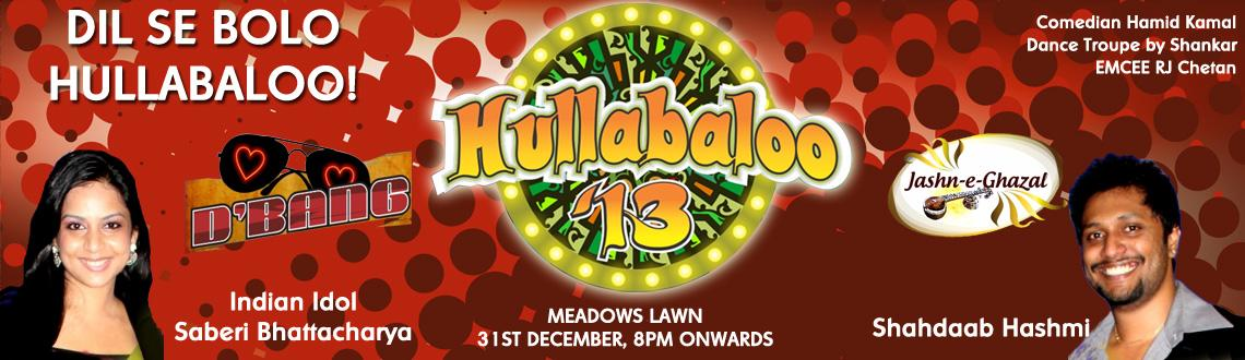 Hullabaloo 13 @ Golkonda Hotel - Meadows Lawn