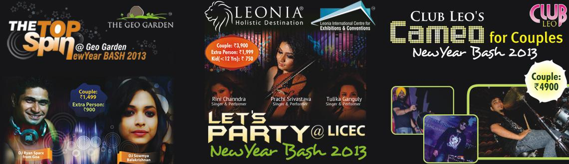 Book Online Tickets for New Year Bash 2013 at Leonia Resorts, Hyderabad.