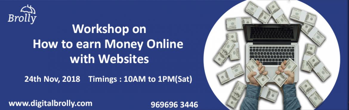 Book Online Tickets for Earning Money Online Hyderabad Workshop, Hyderabad.  Earning Money Online Hyderabad Workshopis a one day workshop happening on 24th Nov 2019 from 10:00 Am to 1:00 Pm.  Did you hear about a friend of your earning online from his website?  Do you also want to earn money online?