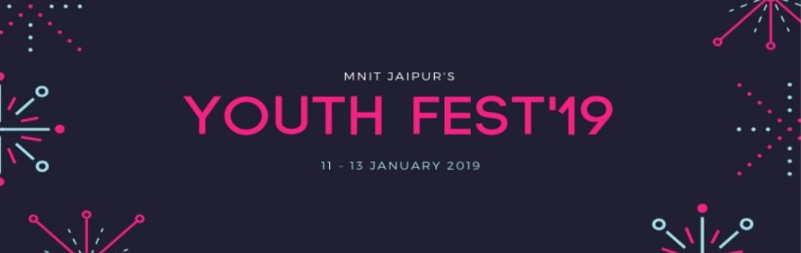 Book Online Tickets for Youth Fest19 : MNIT Jaipur Annual Socio-, Jaipur. Vyaktitva Srijan Club, MNIT Jaipur feels immense pleasure to disclose the most awaited fest of the year, the annual Socio-Cultural and Sports festival of Malaviya National Institute of Technology, Jaipur Youth Fest'19 from 11th January to 13th