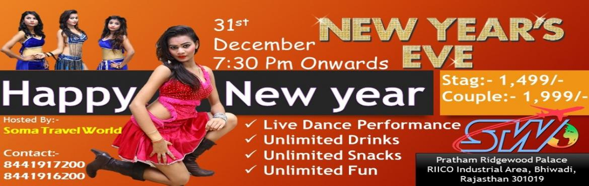 Book Online Tickets for New Year Celebration in Bhiwadi, Bhiwadi. Enjoy New Year Celebration In Bhiwadi... Unlimited Fun Live Dance Troupe Performance Unlimited Drinks Unlimited Snacks ( Veg & Non Veg) Couple & Stag Both Allowed
