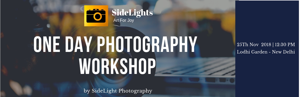 Book Online Tickets for One Day Photography Workshop-DSLR Handli, New Delhi. If you have DSLR or any basic camera with manual control features and you are hungry for visual art to capture by the camera then we will help you with that. Stop clicking photos on automatic mode, make full control over your camera becauseafte