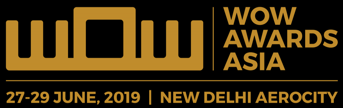 Book Online Tickets for WOW Awards And Convention Asia 2019, New Delhi. WOW Awards & Convention Asia Since 2009, the WOW Awards have been the epitome of cultivating and celebrating excellence in the creation of LIVE events. Today, WOW Awards & Convention Asia is the region's largest business and recognition
