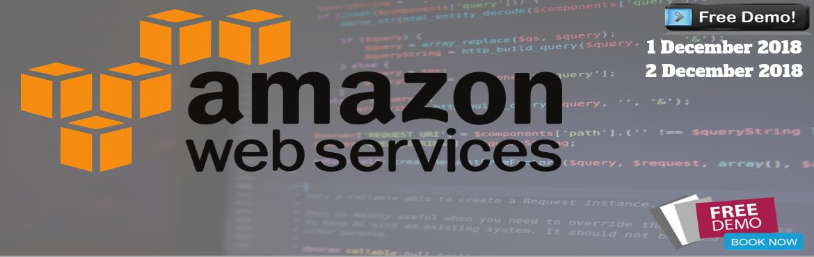 Book Online Tickets for AWS Free Demo Sessions | Live Training |, Bengaluru. AWS Training in Bangalore People click Provides Best AWS Training in Bangalore. We train students from basic to advanced concepts, within a real-time project. Learn how to use Amazon Web Services® from beginner