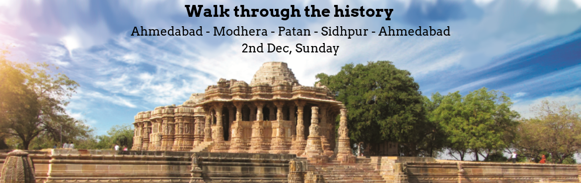 Book Online Tickets for Walk through the history of Tri-city (Mo, Ahmedabad. The One With A Plan has very thoughtfully curated a day outing for all history lovers, who would like to stroll through some of the amazing architectures and stories that the history has gifted us.We plan to start from Ahmedabad in an AC bus, w