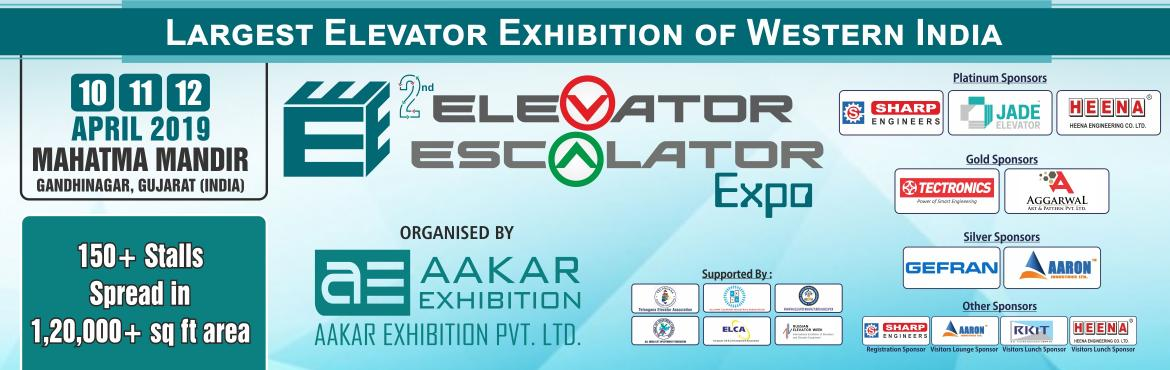 Book Online Tickets for 2nd Elevator Escalator Expo 2019, Gandhinaga. Elevator Escalator Expo is an upcoming business show in India which gives an excellent platform for the vertical transportation industry to meet and interact with relevant leaders, decision makers and managers under one roof. The 2017 edition was hel