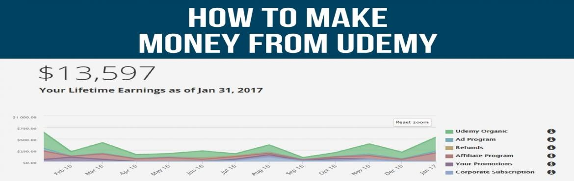 Book Online Tickets for Make Money on Udemy, Mumbai.   *Free Preview Workshop* Contents of the Free Preview Workshop: - Selecting your Best Selling Niche Topic (Most Popular Topic).- Building a Course Frame Work· Script writing· Video Creation using camera, smartphone & screen casting