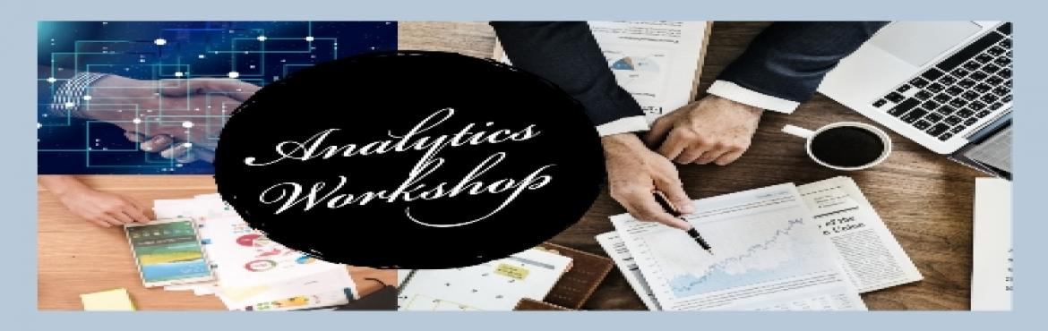 Book Online Tickets for Analytics Workshop for MBA Students..Org, Pune. Objective of this workshop is to help MBA students learn important analytics techniques used by industry experts.   Who can attend this workshop:  1) All MBA students from Sales, Marketing, Finance and Operations Majors  2) Studen