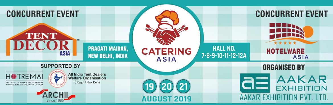 Book Online Tickets for Catering Asia 2019, New Delhi. India is a land of festivals, festivities, events, exhibitions and grand weddings. It is only the tent and decor service providers who converts the dreams into grand realities. They add the necessary tinge, Galore and Impact to it. The meetings, ince