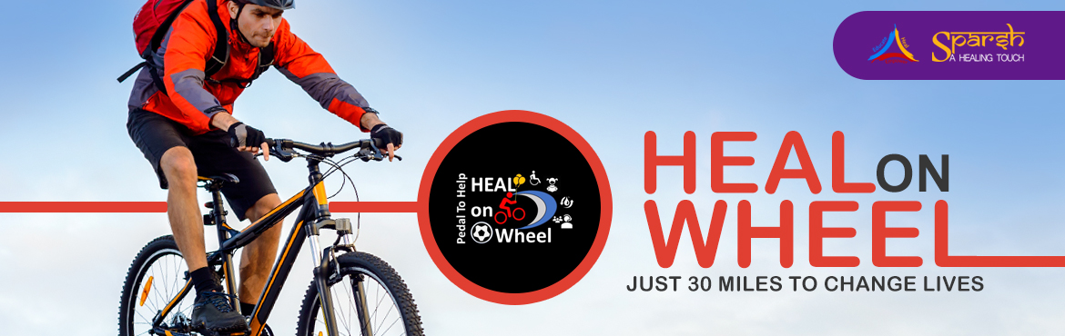 Book Online Tickets for Heal on Wheel - 30 Miles to Change Lives, Pune. There is nothing more beautiful than someone who goes out of their way to make life beautiful for others. Come donate for a cause, and encourage the cyclists who will be cycling for these noble causes... Sparsh - A Healing Touch, a registered NGO, is