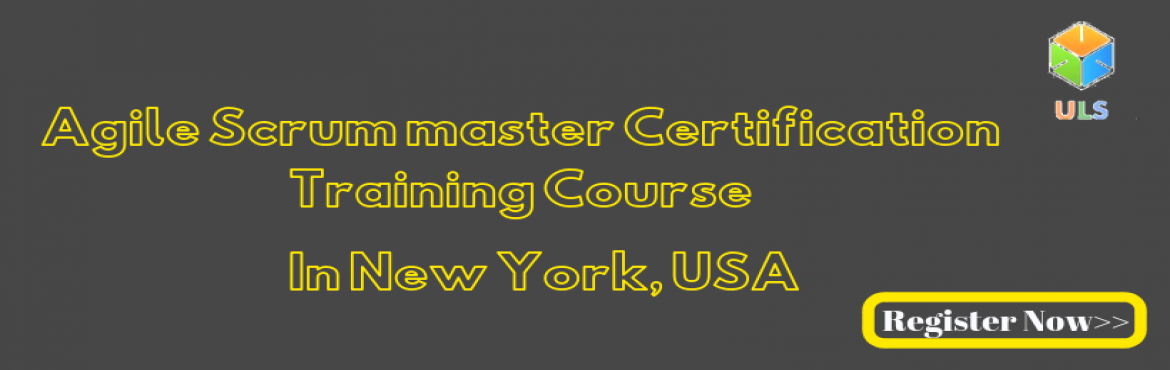 Book Online Tickets for Agile Scrum Master Certification Trainin, New York. UlearnSystem's Offer Agile Scrum Master(ASM) Certification Training Course in New York City, USA Agile Scrum Master Certification Training Course Description: Agile Scrum Master Course understanding of Agile methodologies and Scrum practices an