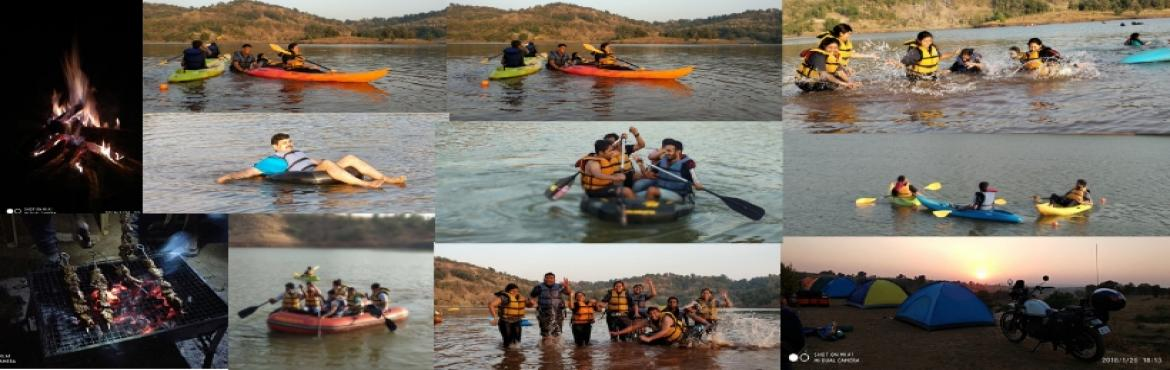 Book Online Tickets for WaterSports and Lake Side Camping near V, Igatpuri. GreenWorld Explorers Presents : WaterSports and Lake Side Camping at Vaitarna Description : If it doesn\'t challenge you,, it won\'t change you. Try you hands on some thrilling water-sports at the very beautiful Vaitarna lake. kayaking, water tubing,