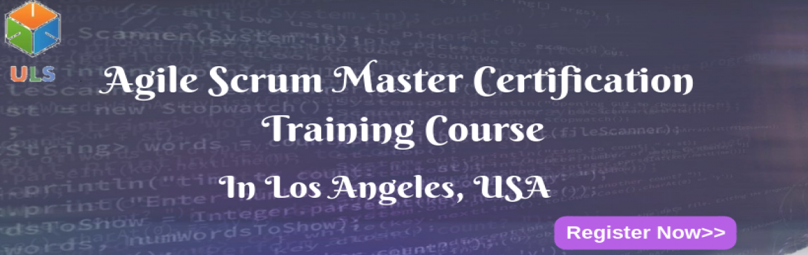 Book Online Tickets for Agile Scrum Master Certification Trainin, Los Angele. UlearnSystem's Offer Agile Scrum Master(ASM) Certification Training Course in Los-Angeles, USA. Agile Scrum Master Certification Training Course Description: Agile Scrum Master Course understanding of Agile methodologies and Scrum practices and