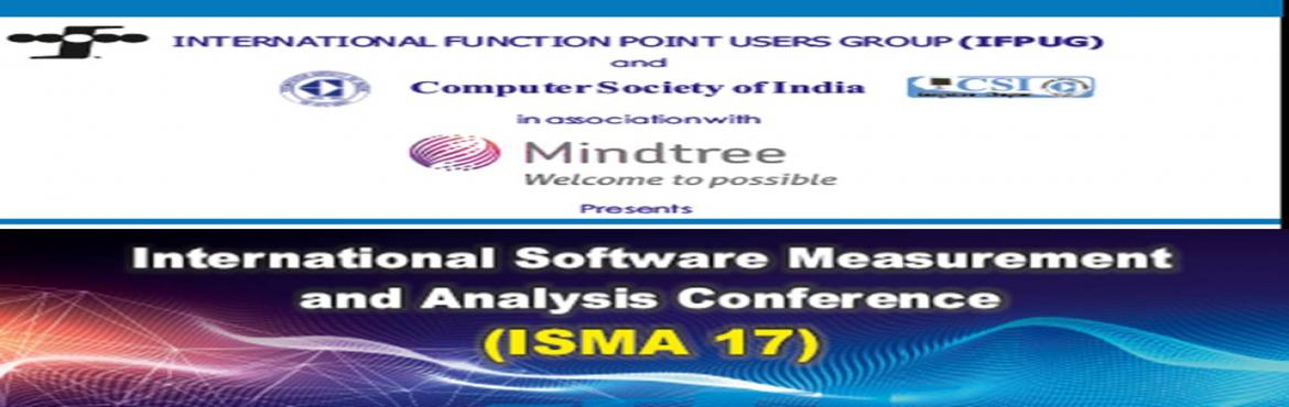 Book Online Tickets for ISMA 17, Bengaluru. Over the last years, ICT organizations are going to move more and more the focus from software to services and non-functional issues. Function Point Analysis (FPA) still remains a central technique for estimating and sizing functional user requiremen