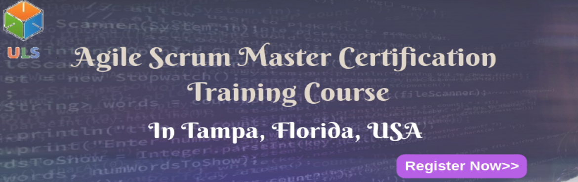Book Online Tickets for Agile Scrum Master Certification Trainin, Tampa. UlearnSystem's Offer Agile Scrum Master(ASM) Certification Training Course in Tampa, Florida, USA. Agile Scrum Master Certification Training Course Description: Agile Scrum Master Course understanding of Agile methodologies and Scrum practices
