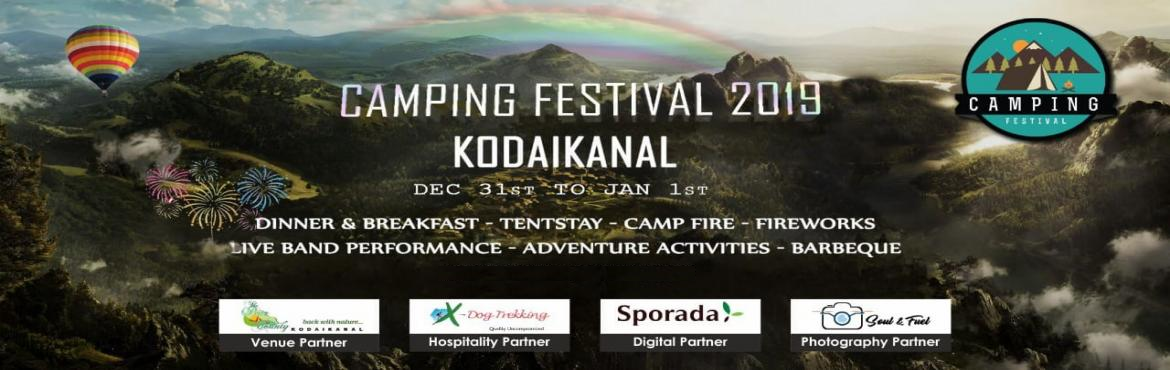 Book Online Tickets for Camping Festival New Year 2019, Kodaikanal. Camping Festival is here to gather nature lovers campers and travellers at one place , to celebrate , to nurture, to have a best ever nature filled fun party with yummy food and mind blowing music .. Designed to celebrate on the eve of new yearThis y