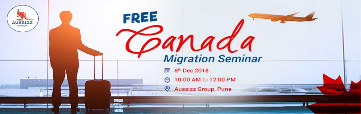 Book Online Tickets for FREE Seminar on Canada Immigration, Pune.  Planning to boost your career with Permanent Residency visa in Canada? Participate in informative session by paying attention to every PR detail. This will help you to file your PR application without any hassles. Highlights: * Benefits of Cana