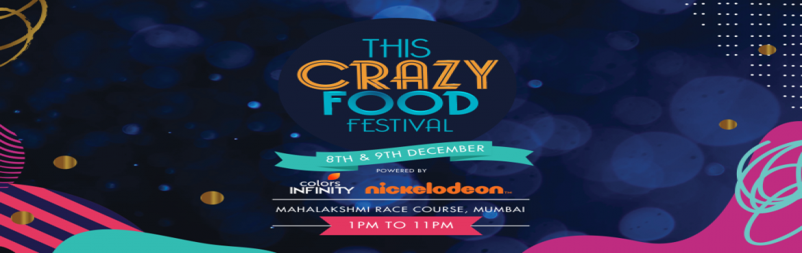 Book Online Tickets for This Crazy Food Festival - Season 2, Mumbai. This December, Mumbai is going to be hosting the second edition of the keenly-awaited food and drinks festival seen by this city - This Crazy Food Festival, brought to you by The A La Carte Company. The founders Rekha Pamani-Gulati and Nisha Sareen p