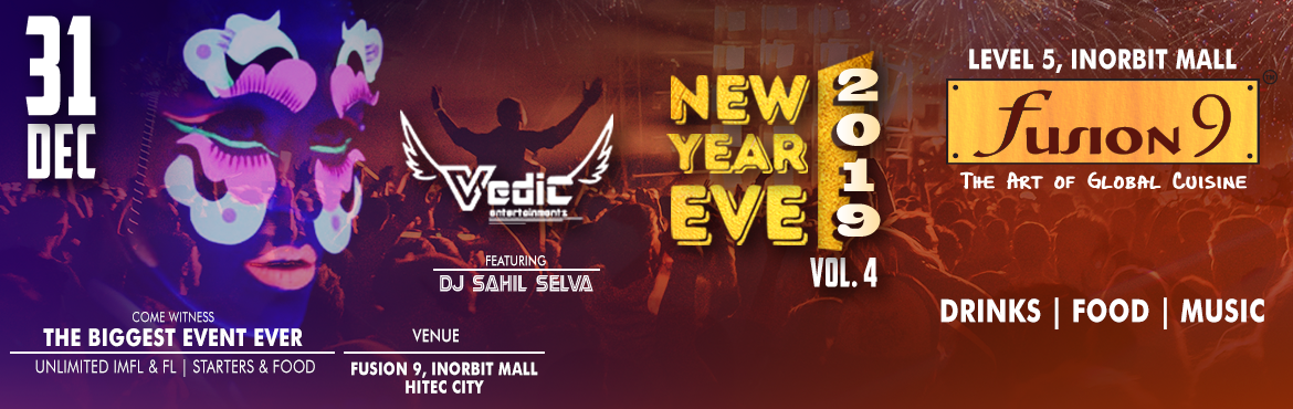book online tickets for new year eve vol 40 at fusion 9 hyderabad a