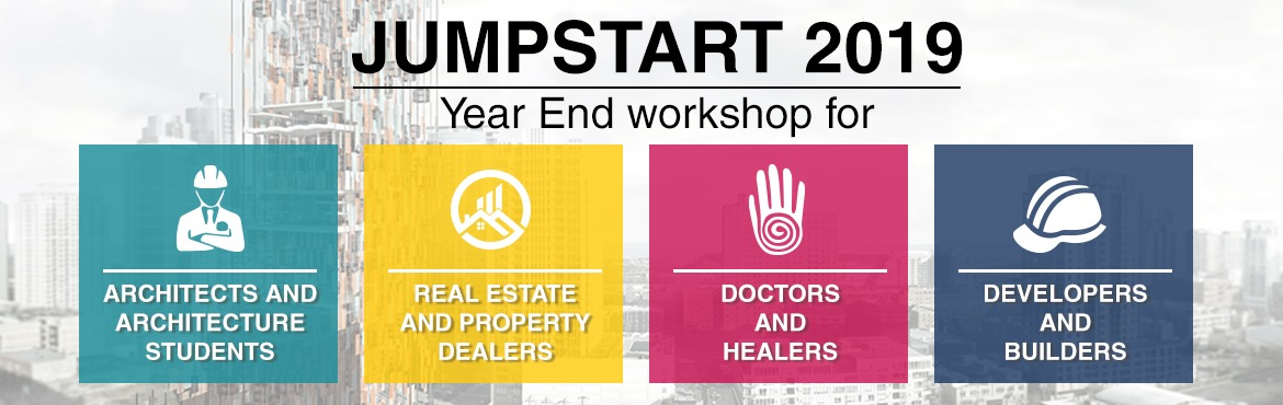 Book Online Tickets for Jumpstart 2019 - Extraordinary Knowledge, Pune. Ar. Mayank Barjatya brings to you 3 Days of Intensive Learning on Human and Vastu Energies. Bring in your new year, surrounded by positive energies.Register for Vastuworld\'s annual 3-day Workshop where we delve into details of how spaces, and
