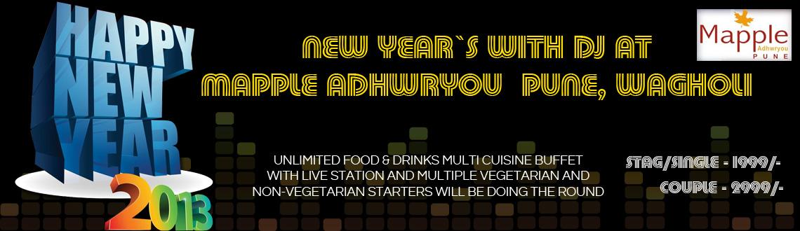 New Year\'s Eve 2013 @ Mapple Adhwryou Hotel
