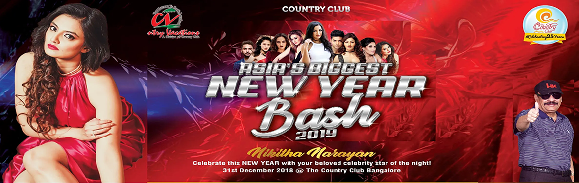 Book Online Tickets for Asias Biggest New year Bash 2019, Bengaluru. Bangalore NYE 2019 Highlights Nikitha Narayan is a model & actor born to Kannada parents on 19 May 1992 in Bengaluru Modeling career began at the age of 10 & acting career started in 2011 from Telugu industry, she has worked in kannada,