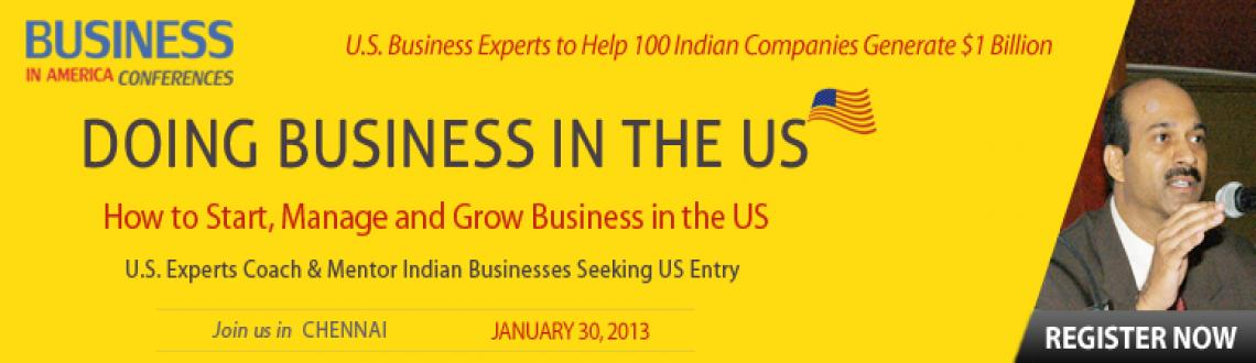 Book Online Tickets for \'U.S. Business Opportunities and Immigr, Chennai.  
