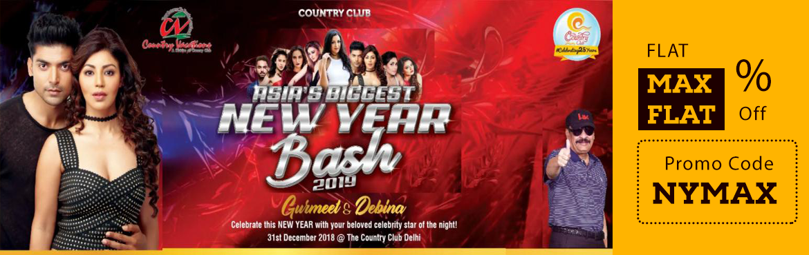 Book Online Tickets for Country Club Delhi Asias Biggest New Yea, Faridabad. Delhi NYE 2019 Gurmeet Choudhary,( 22 February 1984) is an Indian television actor, model and dancer. His Bollywood debut was in Karan Darra\'s horror movie Khamoshiyan. He won fame when he won the fifth season of the dance contest Jhalak Dikhhla Jaa