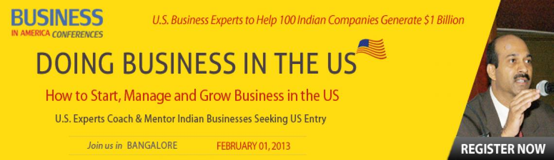 Book Online Tickets for \'U.S. Business Opportunities and Immigr, Bengaluru.  