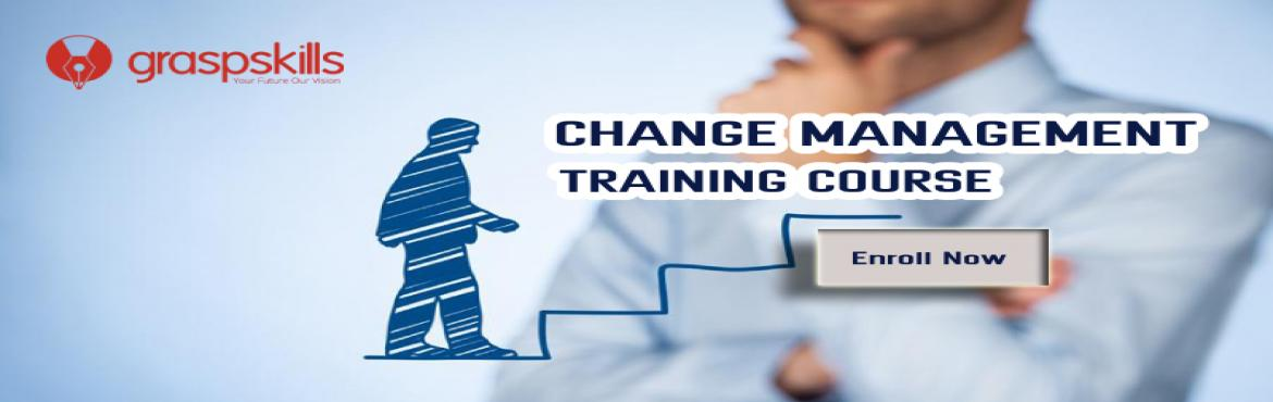 Book Online Tickets for Change Management Training Course in Was, Washington. Date: Jan 14 ACTUAL PRICE: USD 900 Earlybird price: USD 750  Earlybird Date: till: 27th Dec 2018 Timings: 09:00 AM - 05:00 PM  Course Description Lead and Manage Change efficiently at the organizational level in any industry with the Change Managemen