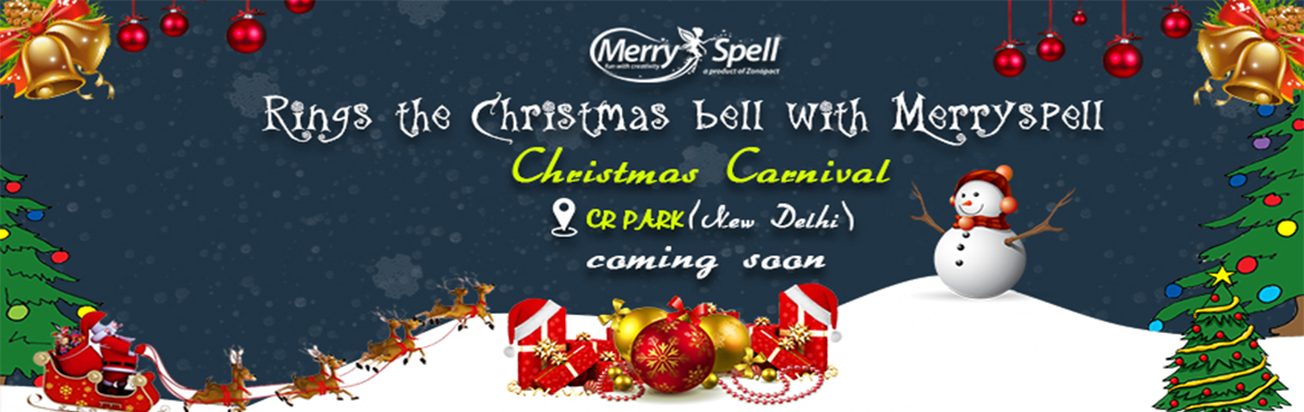 Book Online Tickets for Christmas Carnival, New Delhi. MerrySpell is proudly organizing Christmas Carnival on 23rd December. This will be a fun-filled event with a lot of exciting shows and interesting activities for kids. Santa Claus will also be coming to embrace the kids with presents and surprises. F