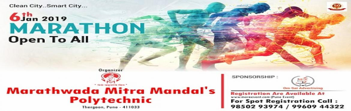 Book Online Tickets for Clean City- Smart City - Mini marathon 2, Pune. \
