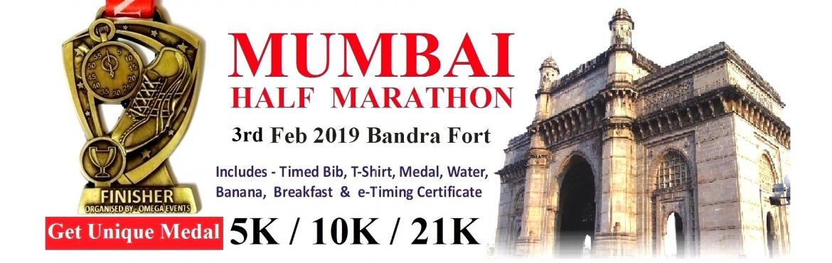 Book Online Tickets for Mumbai Half Marathon - 3rd Edition, Mumbai.  Runners who are yet to collect Bib & T Shirt for 3rd Feb Run Collect on 26-27th Jan or 2nd Feb, 2-8 pm - Decathlon Store, Atria Mall, WorliWhatsapp number 8369178211  Participate and Earn Unique Medal Omega is a Social Enterpri