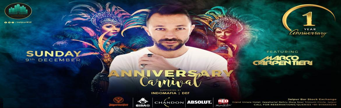 Book Online Tickets for Rio Carnival - 1st Year Anniversary at J, Jaipur. Jaipur! We are turning ONE!And the Journey has been worth bragging about. Its gears up from calling top-notch artists straight out of Tomorrowland and Ultra Music Festival to getting featured in top 10 magazines and Grabbing prestigious awards,&