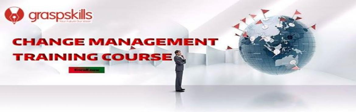 Book Online Tickets for CHANGE MANAGEMENT TRAINING COURSE IN DEN, Denver. Details: Date:  Jan 04 - Jan 05  2018 Standard Price: USD 799 Early Bird Price: USD 649  Early Bird Date: 27th Dec 2018 Time : 07:30 PM - 11:30 PM   Course Description The Change Management Training course by Graspskills prepare aspirants t