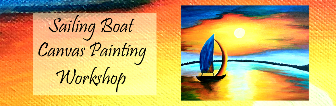 Book Online Tickets for Sailing In The Night Canvas Painting, Mumbai. Sailing In The Night Canvas Painting - Basic level painting covering multi colour blending techniques and styles. Duration - 2 days Spend productive time this season by acquiring professional level Art Skills! Beautiful Boats scene is alway