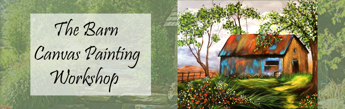 Book Online Tickets for Old Barn Canvas Painting, Mumbai. Old Barn Canvas Painting - Contemporary style old barn is mid level painting covering various aspects of painting landscapes. Basic painting skills required.  Painting Duration - 5 Days Spend productive time this season by acquiring profess