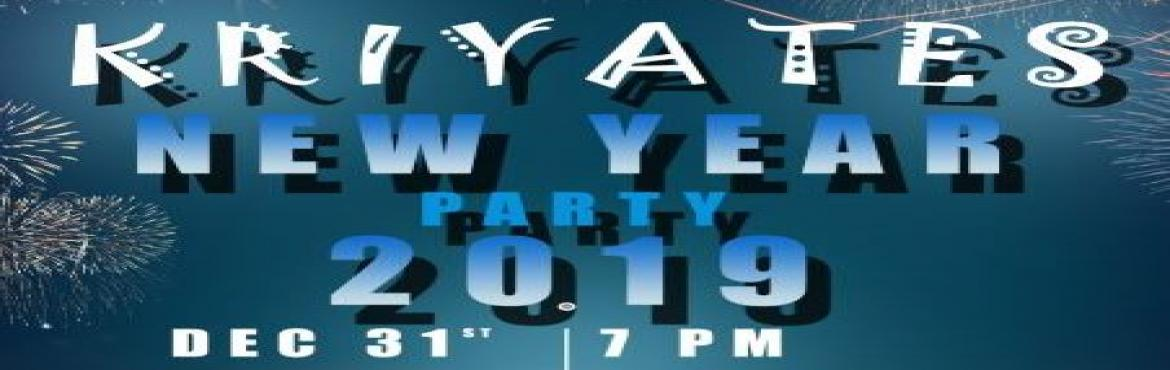 Book Online Tickets for NEW YEAR PARTY 2019 @ Kriyates, OMR Thor, Chennai. NON ALCOHOLIC FAMILY PARTY DJ NIGHT MCEEE POOL SIDE PARTY LUCKY DRAW DANCE FLOOR FUN GAMES FOOD STALLS UNLIMITED VEG FOOD ADULT JUST PAY RS.999, KIDS (4 TO 12 YEARS) RS.599, AS ENTRY CHARGES JUST HAVE FUN, DANCE AND PARTY ON THE NEW YEAR EVE MONDAY 3