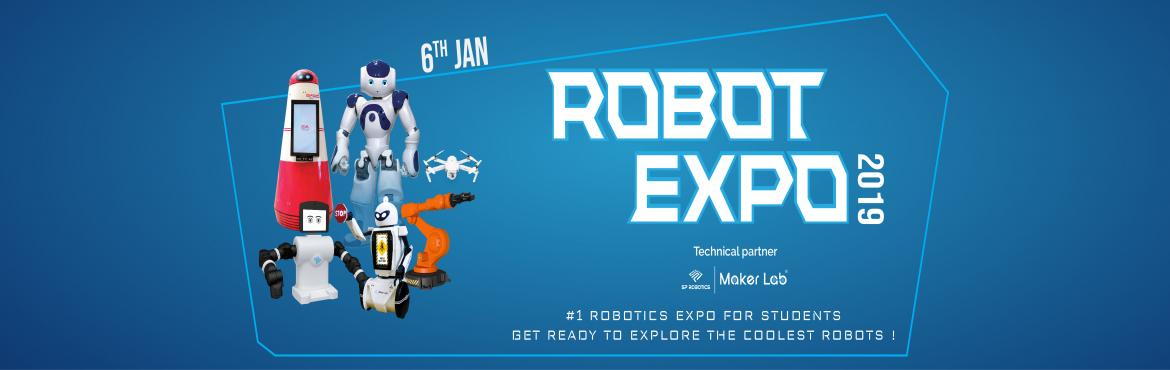 Book Online Tickets for Robot Festival 2019, Chennai. #1 Robotics Expo for Students. Get ready to explore the coolest robots!Step-in to see robots from various sectors - Agriculture, Hospitality, Transportation, Manufacturing, Security and Safety, Aerial Navigation and more. Get enriched with ideas of t
